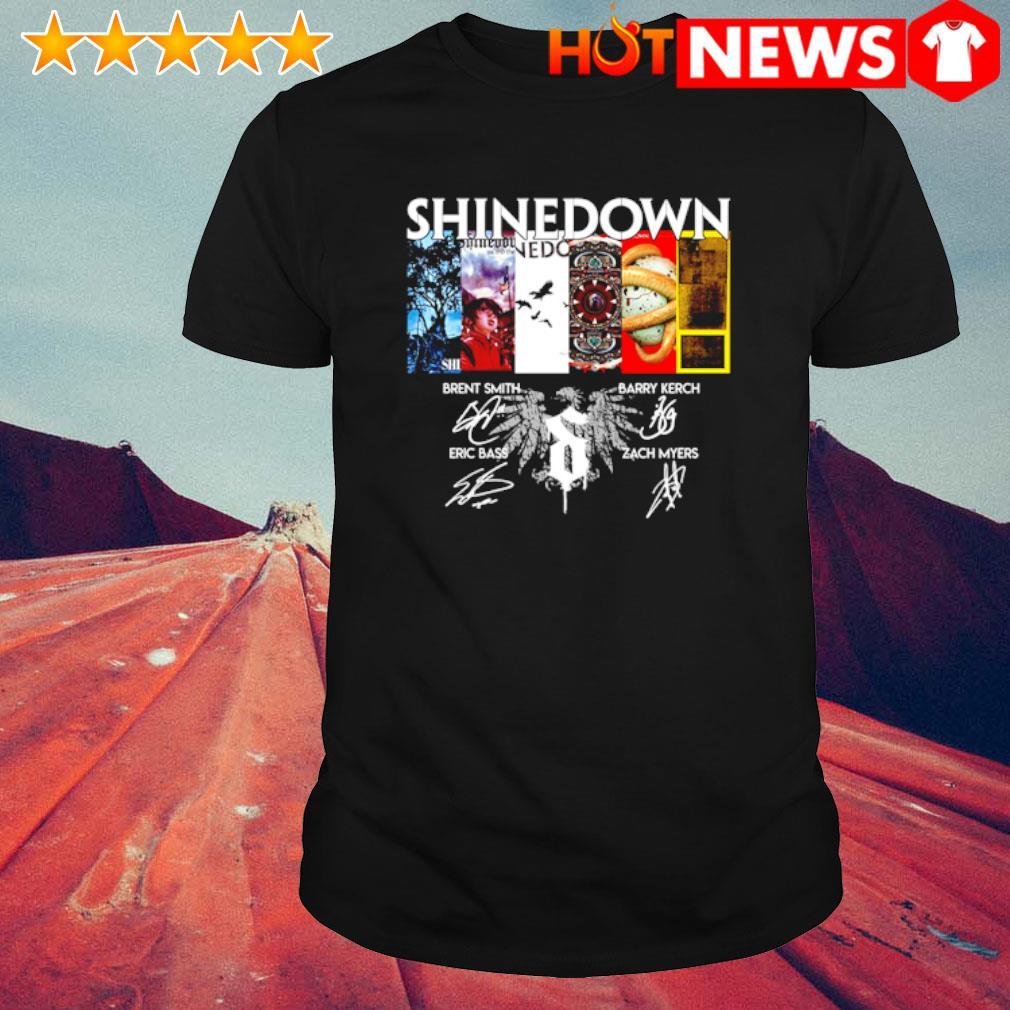 Shinedown 19th Anniversary 2001 2020 signature shirt