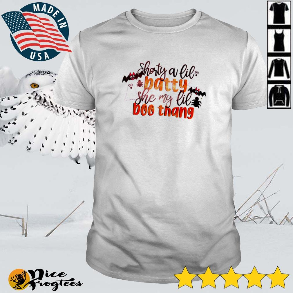 Top Shorty a lil batty she my lil Boo Thang Halloween shirt