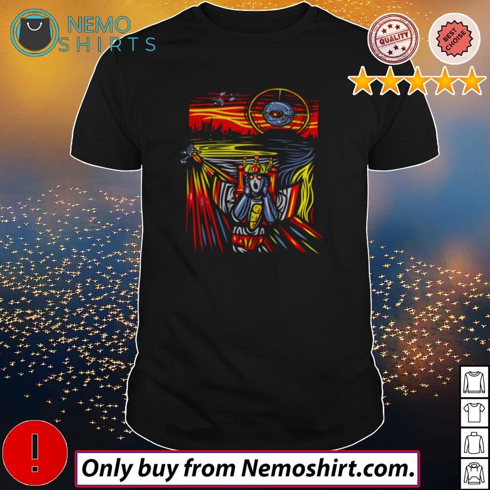 The Star-Scream Transformers The Scream painting shirt