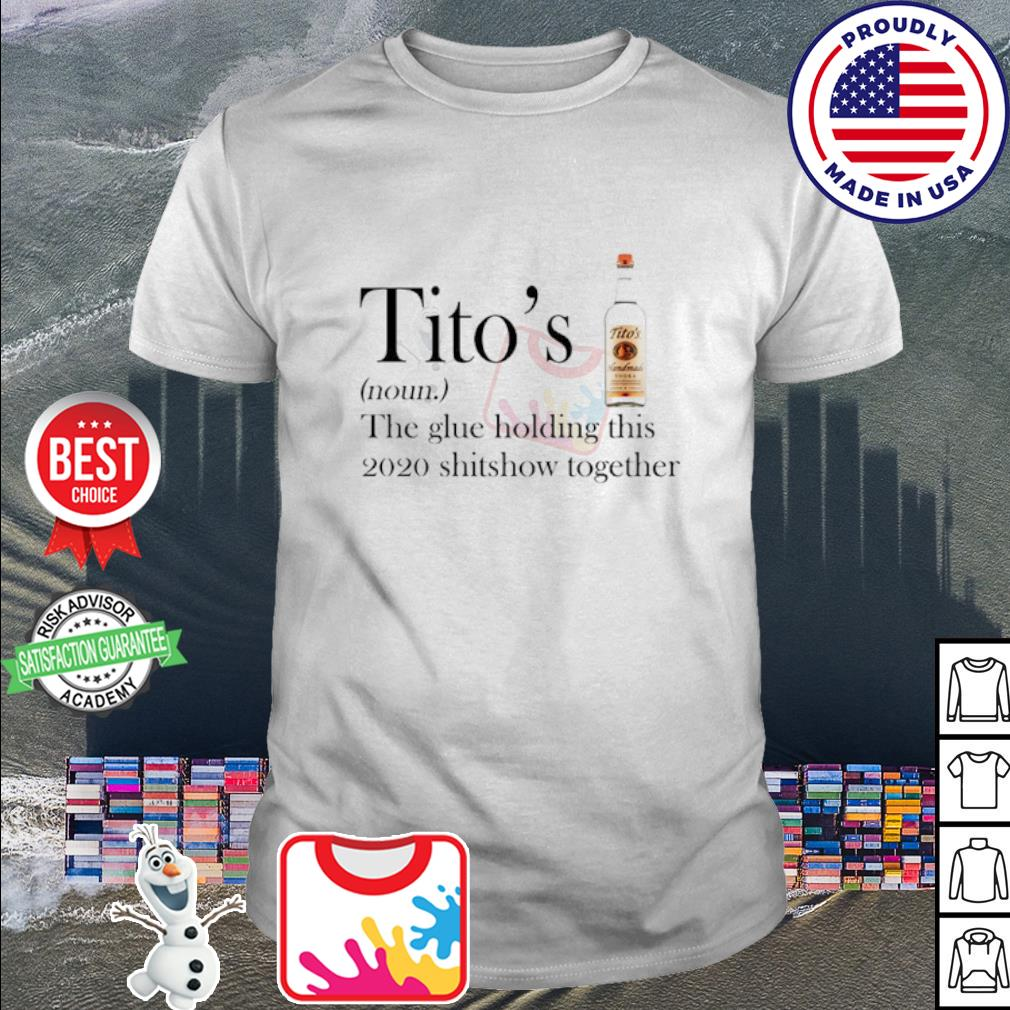 Woman WAP wine and pizza shirt     Tito's Vodka the glue holding this 2020 shitshiw together shirt
