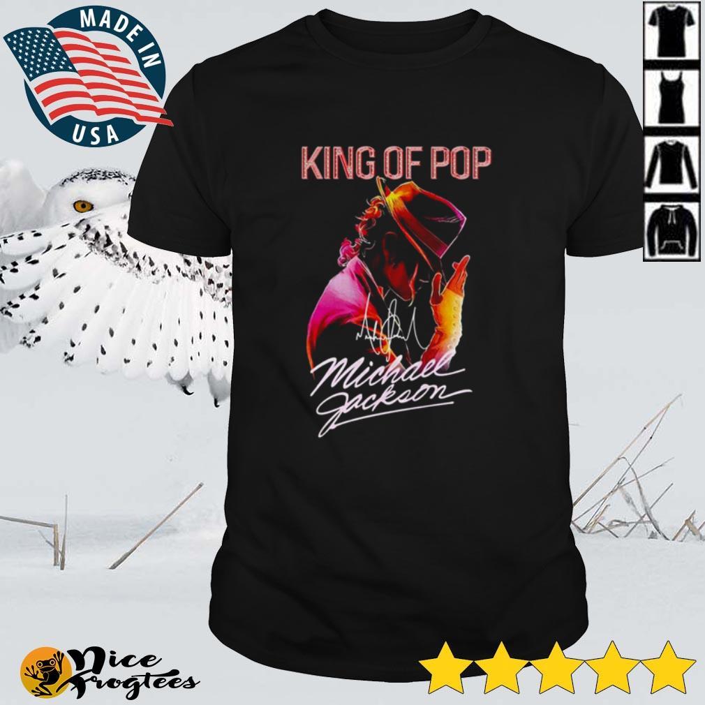 Top King of pop Michael Jackson signature shirt