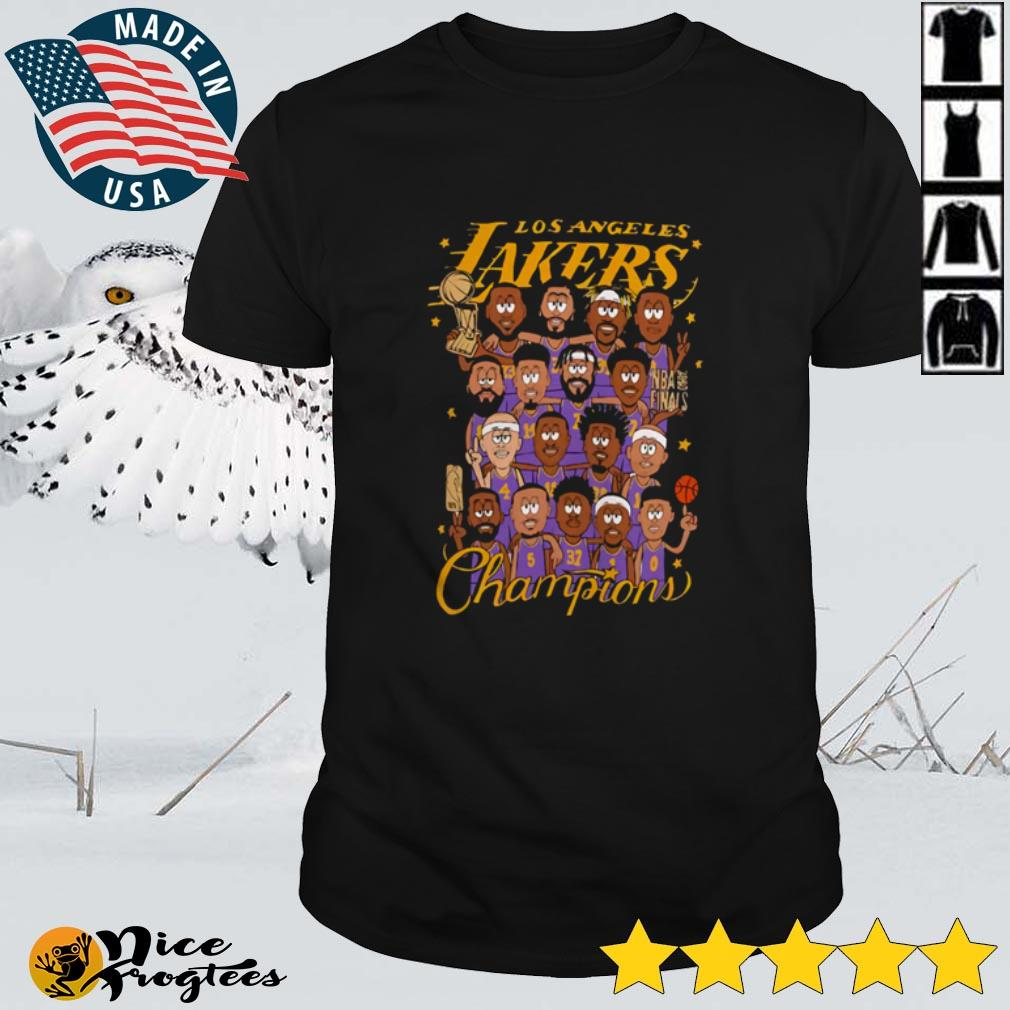Top Los Angeles Lakers Champions NBA Finals shirt