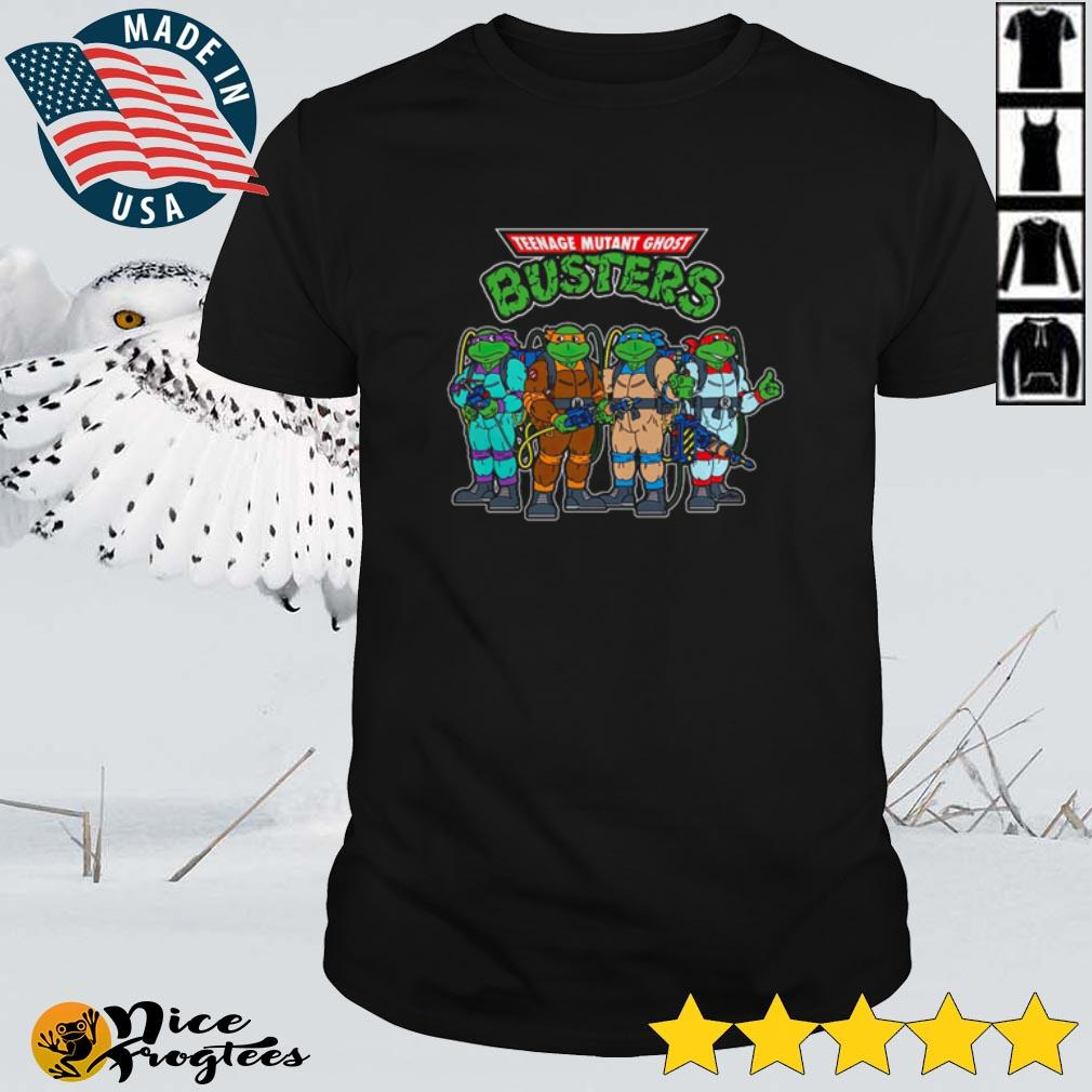 Top Teenage Mutant Ghost Busters shirt