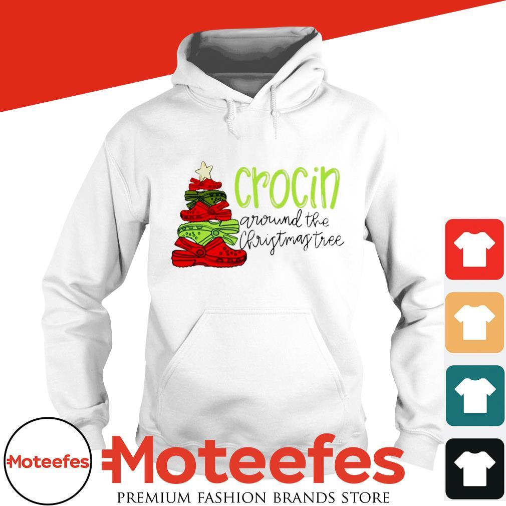 Crocin around the christmas tree shirt, sweater